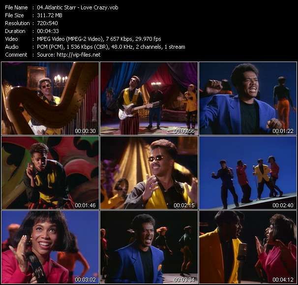 Atlantic Starr video vob