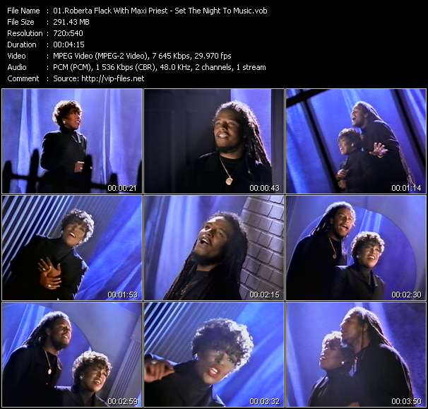 Roberta Flack With Maxi Priest video vob