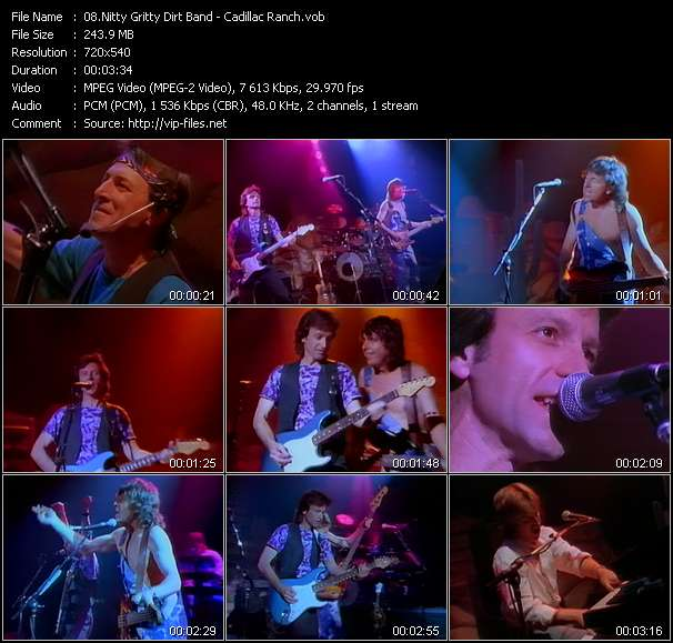 Screenshot of Music Video Nitty Gritty Dirt Band - Cadillac Ranch