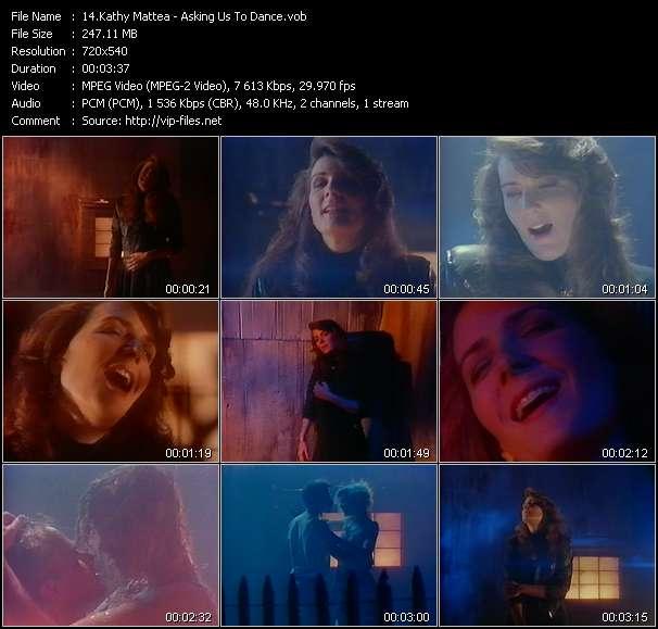 Screenshot of Music Video Kathy Mattea - Asking Us To Dance
