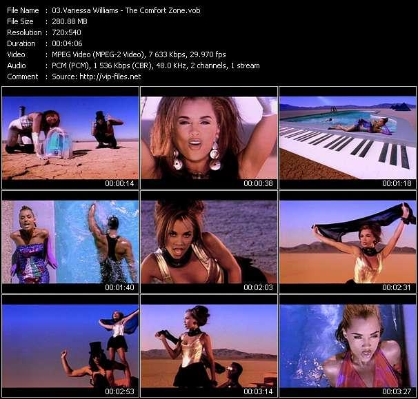 Vanessa Williams clips musicaux vob