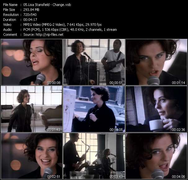 Screenshot of Music Video Lisa Stansfield - Change