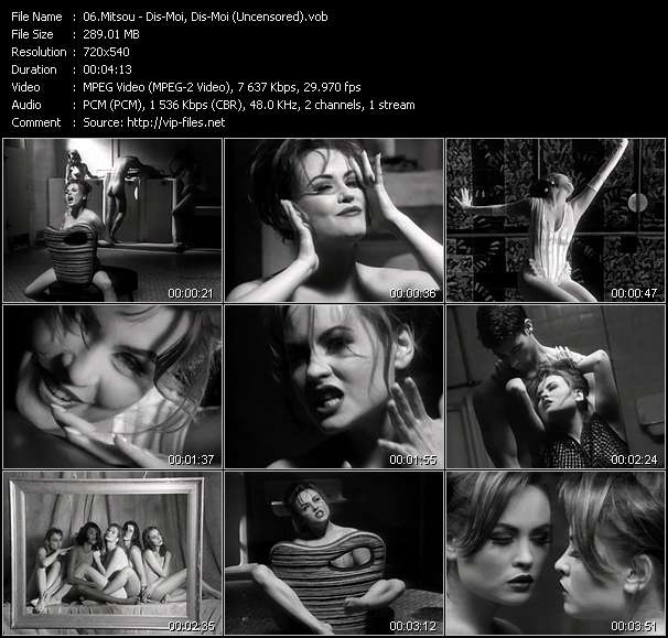 Screenshot of Music Video Mitsou - Dis-Moi, Dis-Moi (Uncensored)
