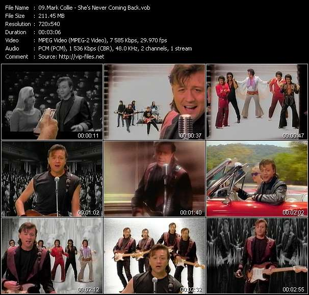 Screenshot of Music Video Mark Collie - She's Never Coming Back