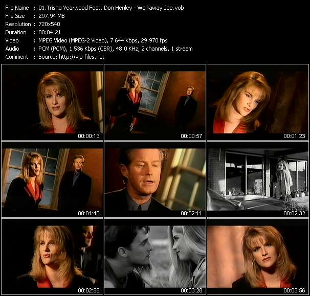 Trisha Yearwood Feat. Don Henley video vob