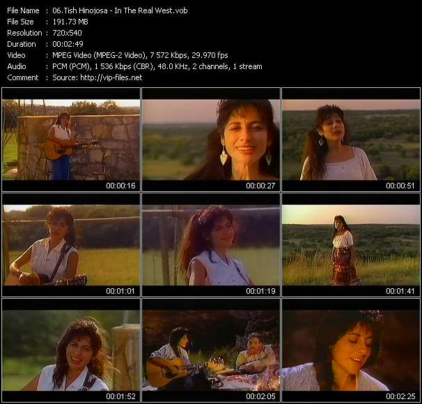 Screenshot of Music Video Tish Hinojosa - In The Real West