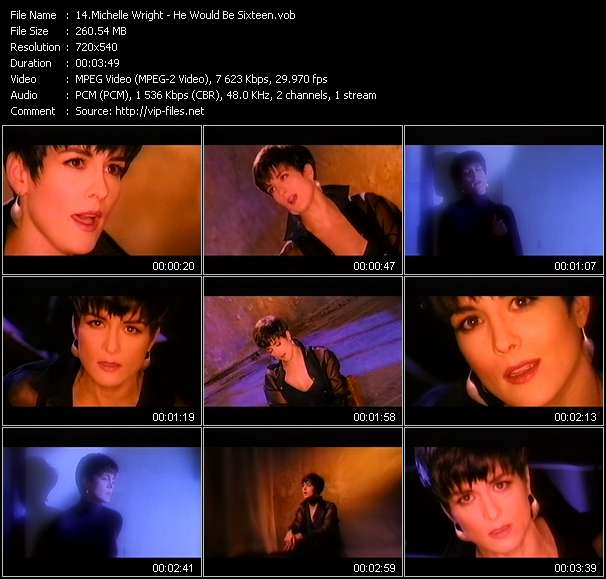 Screenshot of Music Video Michelle Wright - He Would Be Sixteen