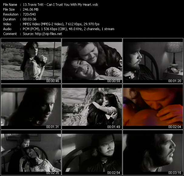 Travis Tritt video vob