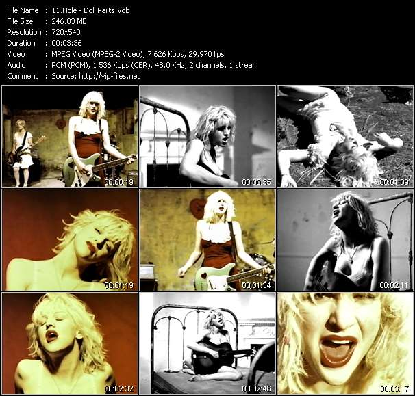 Hole video vob
