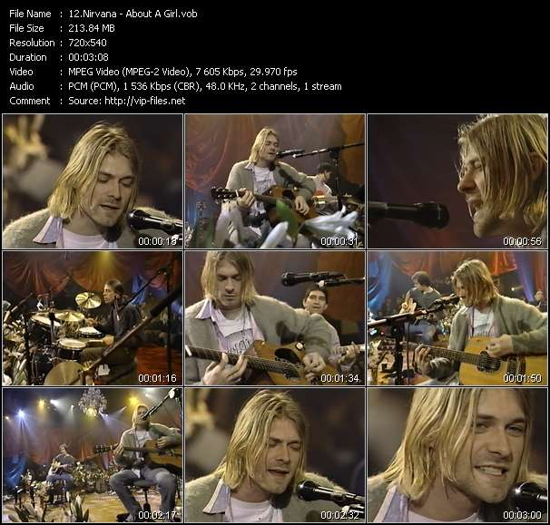 Nirvana video vob