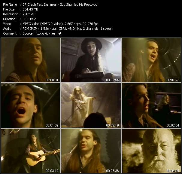 Crash Test Dummies video vob