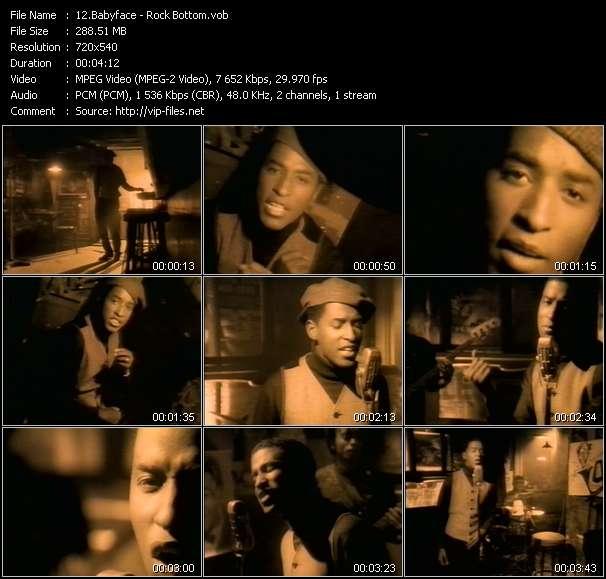 Babyface video vob