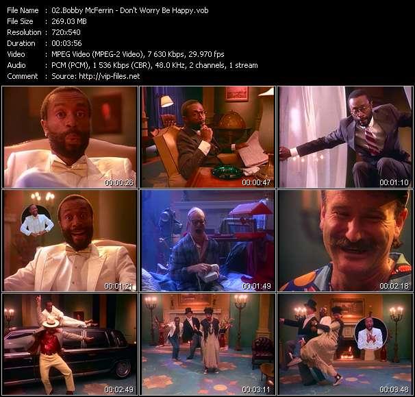 Bobby McFerrin video vob