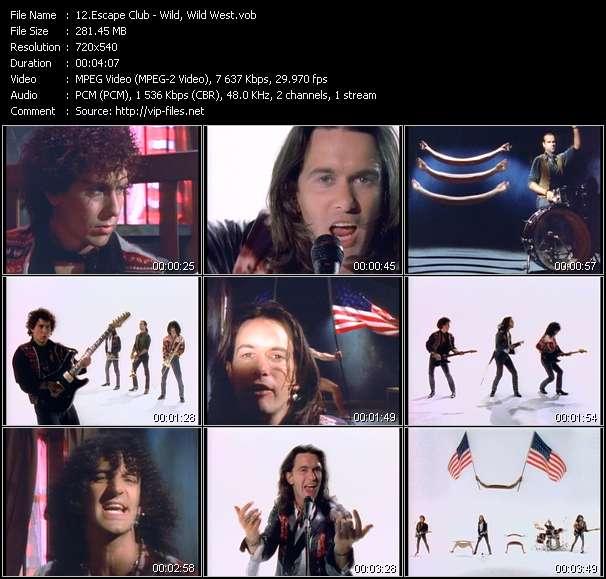 Screenshot of Music Video Escape Club - Wild, Wild West