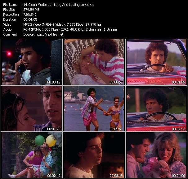 Screenshot of Music Video Glenn Medeiros - Long And Lasting Love