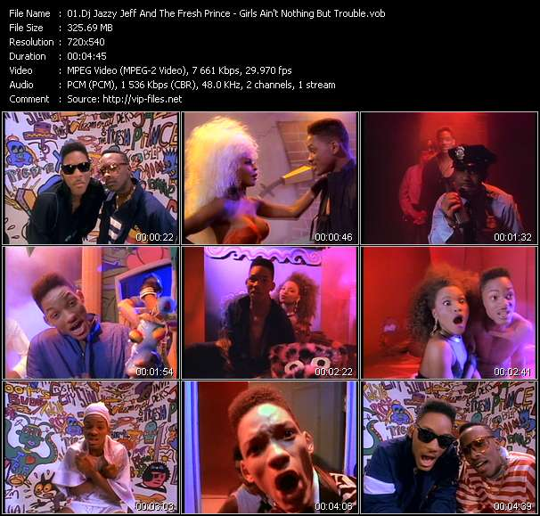 Dj Jazzy Jeff And The Fresh Prince video vob