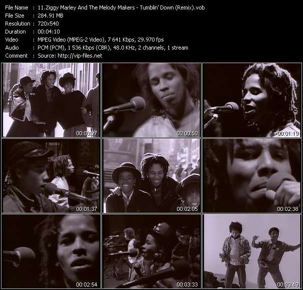 Ziggy Marley And The Melody Makers video vob