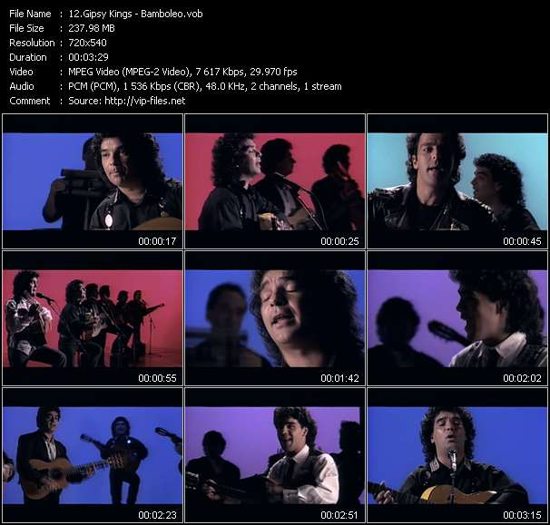 Gipsy Kings video vob