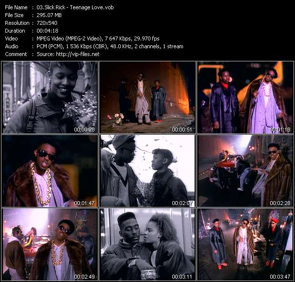 Slick Rick video vob