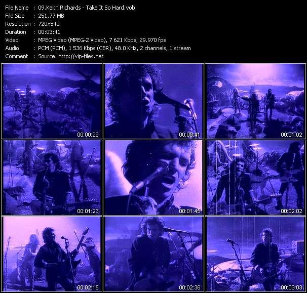 Keith Richards video vob