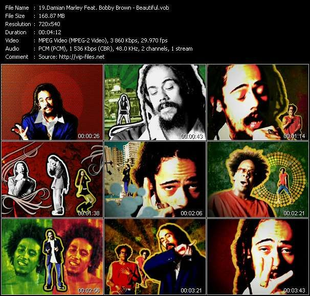 Damian Marley Feat. Bobby Brown video vob