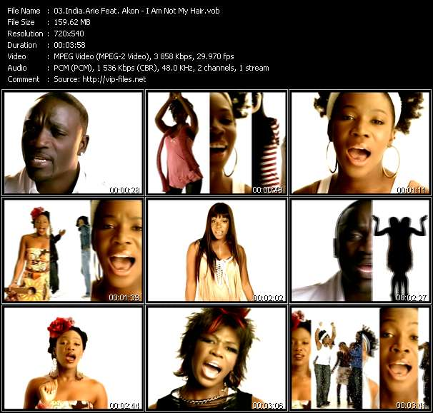 India.Arie Feat. Akon video vob