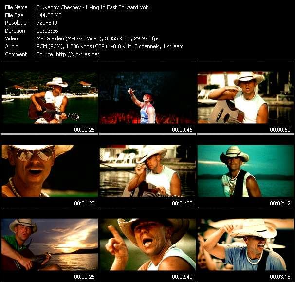 Kenny Chesney video vob