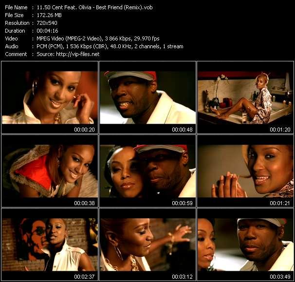 50 Cent Feat. Olivia clips musicaux vob