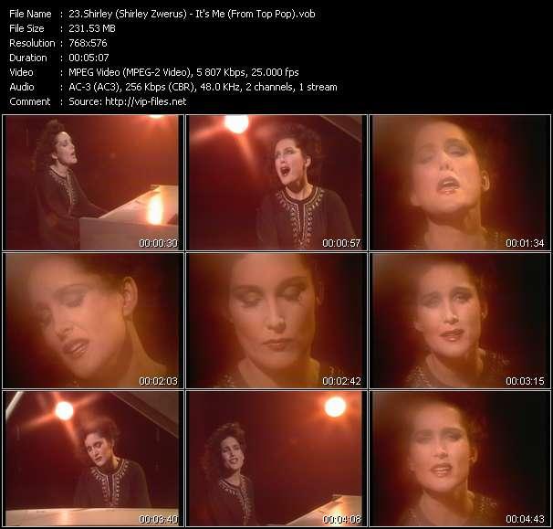 Screenshot of Music Video Shirley (Shirley Zwerus) - It's Me (From Top Pop)