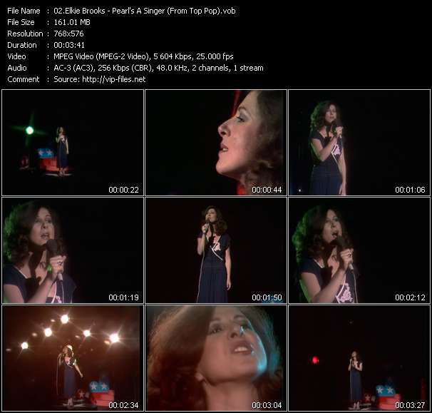 Elkie Brooks video vob