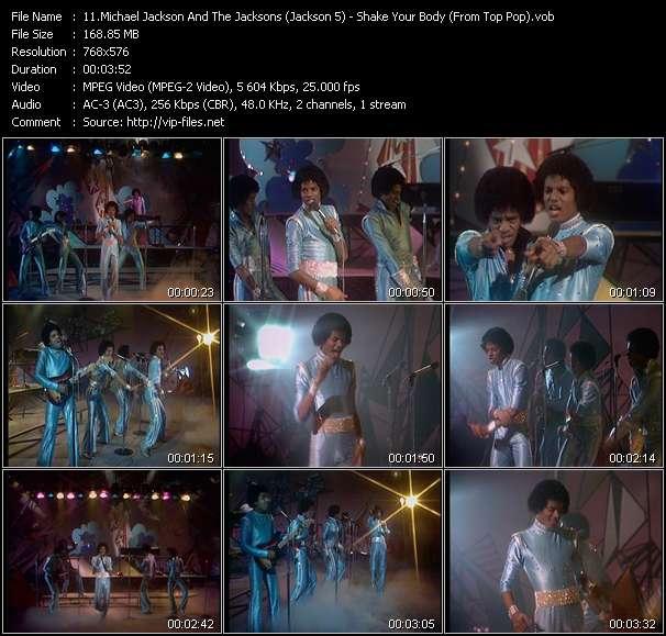 Michael Jackson And The Jacksons (Jackson 5) video vob