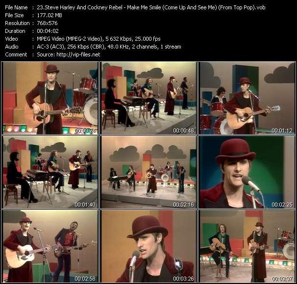 Steve Harley And Cockney Rebel video vob