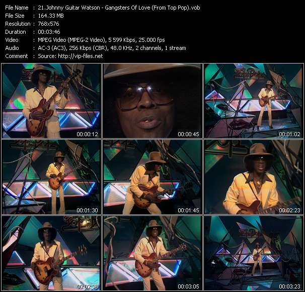 Johnny Guitar Watson video vob