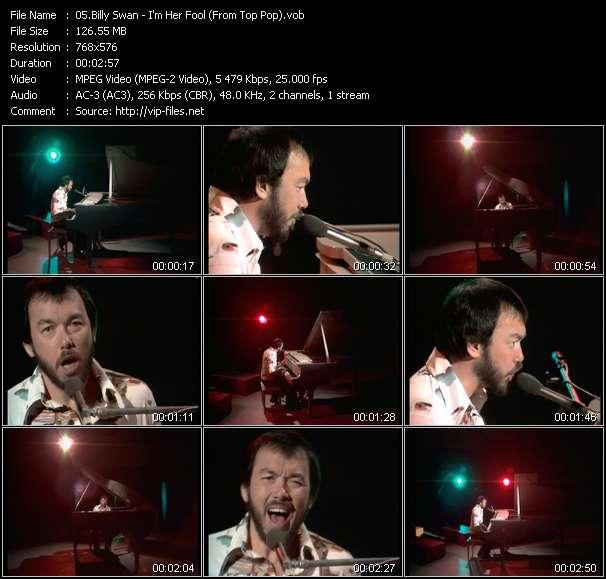 Billy Swan video vob