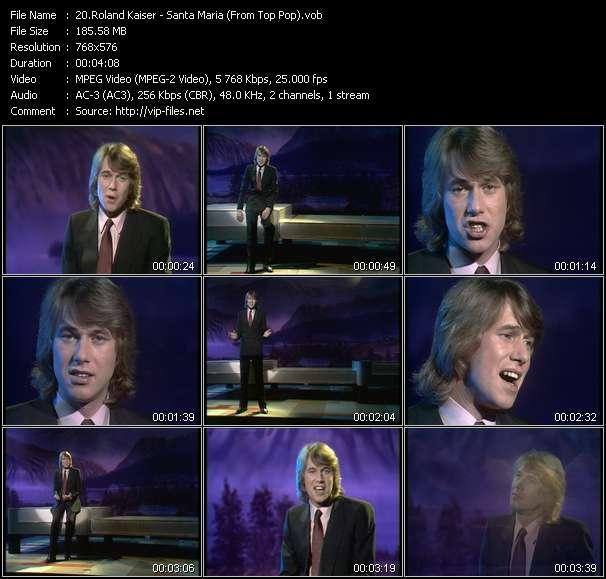 Roland Kaiser видеоклип vob