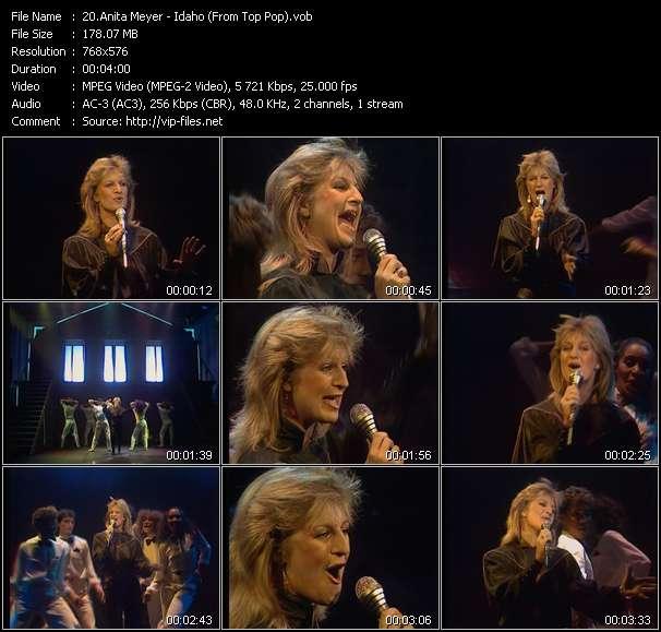 Screenshot of Music Video Anita Meyer - Idaho (From Top Pop)