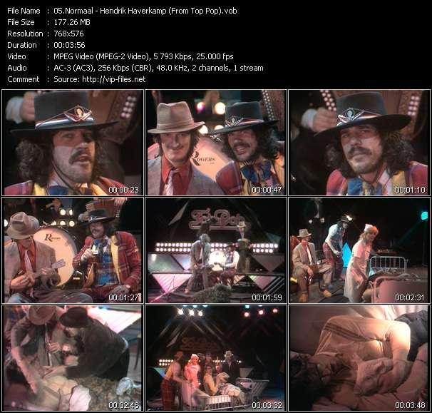 Screenshot of Music Video Normaal - Hendrik Haverkamp (From Top Pop)