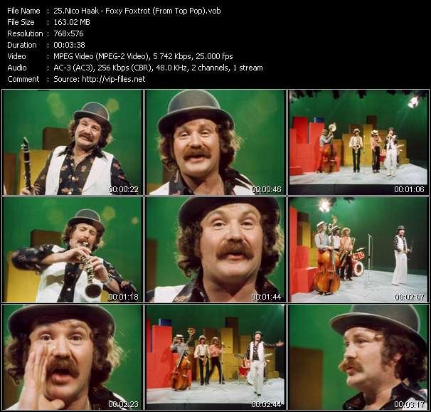 Screenshot of Music Video Nico Haak - Foxy Foxtrot (From Top Pop)
