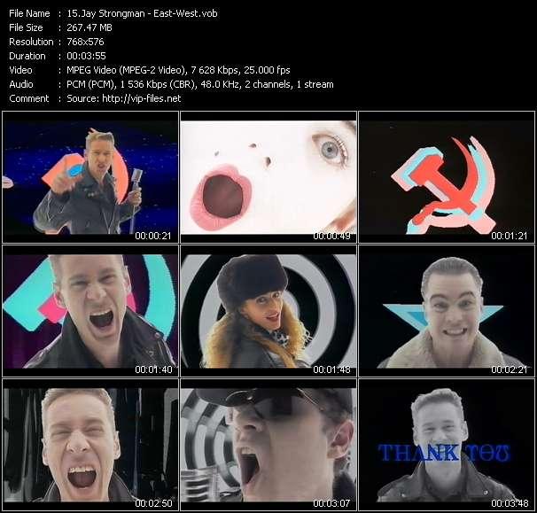Jay Strongman clips musicaux vob