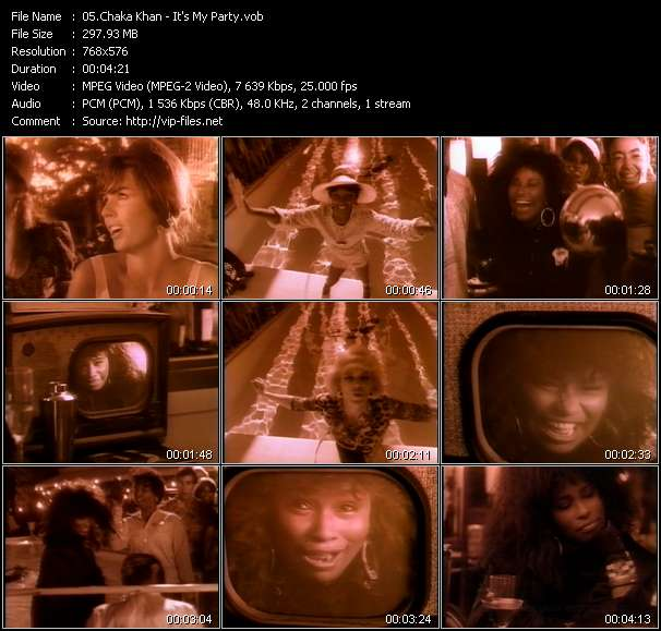Chaka Khan video vob