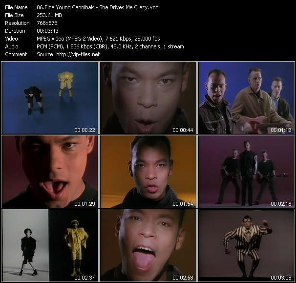 Fine Young Cannibals video vob
