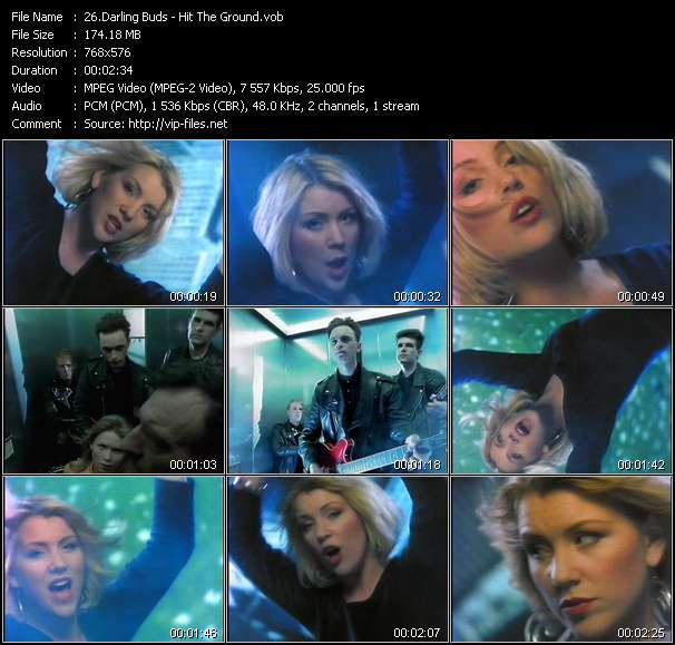 Darling Buds video vob