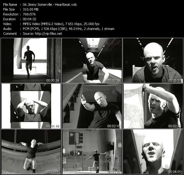 Screenshot of Music Video Jimmy Somerville - Heartbeat