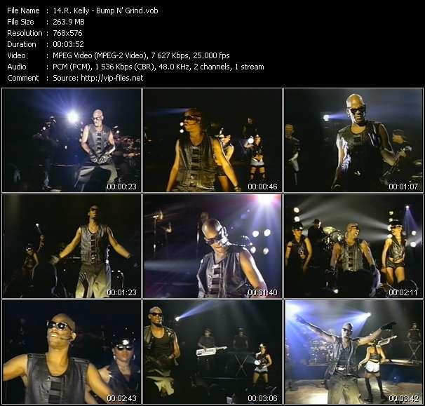 Screenshot of Music Video R. Kelly - Bump N' Grind
