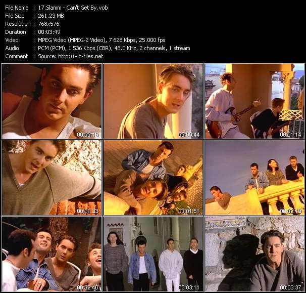 Screenshot of Music Video Slamm - Can't Get By