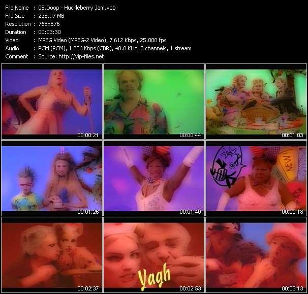 Screenshot of Music Video Doop - Huckleberry Jam