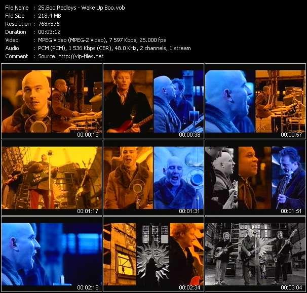 Screenshot of Music Video Boo Radleys - Wake Up Boo