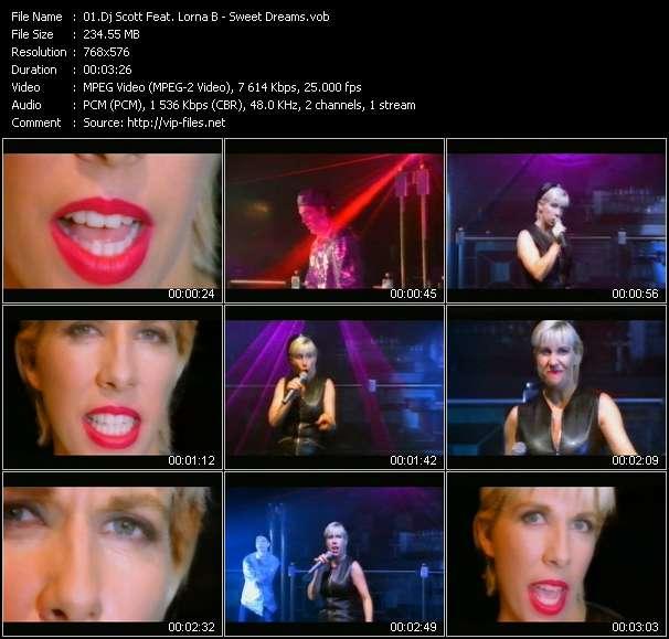 Screenshot of Music Video Dj Scott Feat. Lorna B - Sweet Dreams