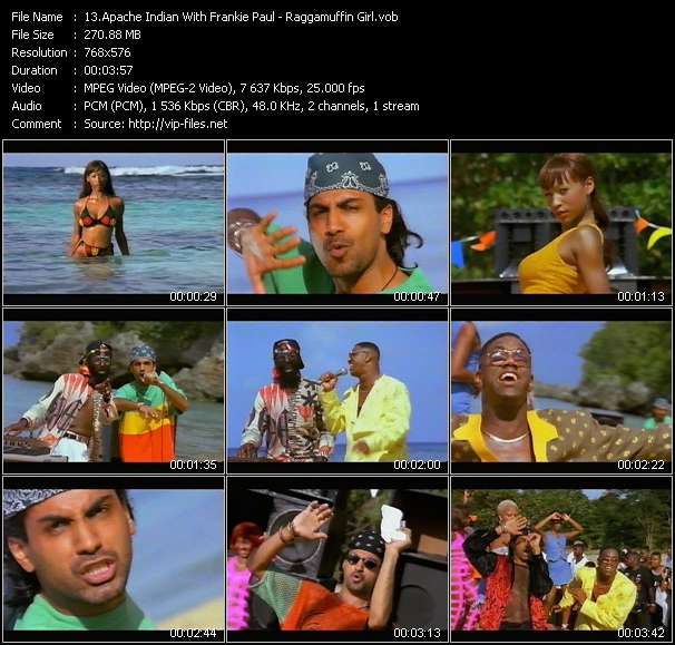 Apache Indian With Frankie Paul video vob