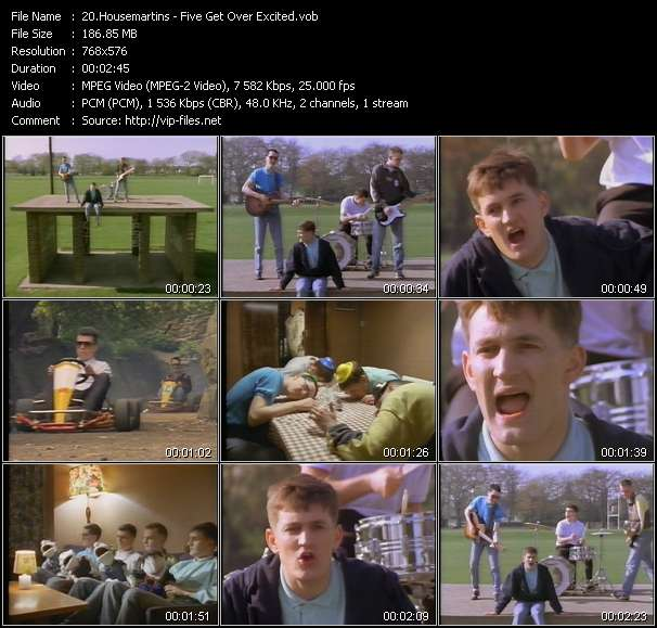 Housemartins five get over excited download music for House music 1987